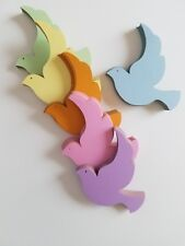Dove/Bird Die Cut Outs ( Embellishments, Scrap Booking, Decoupage )