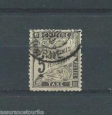 TIMBRE TAXE - 1881 YT 14 - OBL. / USED