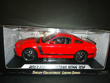 Shelby Collectibles Ford Mustang Boss 302 2013 Red 1/18