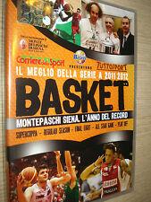 DVD BASKET IL MEGLIO DELLA STAGIONE 2011-2012 SERIE A FILM MONTEPASCHI SIENA WIN