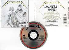 "METALLICA ""And Justice For All"" (CD) 1988"
