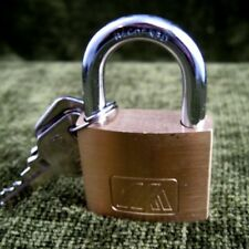 Brass Security Lock and key set