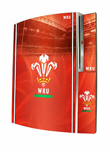Wales Rugby Union Playstation 3 Console Skin Sticker PS3 Official WRU Item New