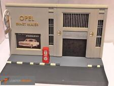 OPEL GARAGE DIORAMA - Ernst Maier - 1/43 scale model OPEL COLLECTION