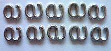 accessori-reggiseno GANCETTI 5 MM ARGENTO privo di Nickel 10 ST