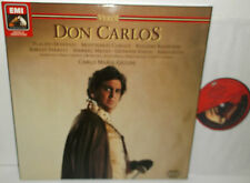 EX 153 29 0712 3 Verdi Don Carlos Domingo Caballe / Giulini 3LP Box Set