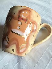 Starbucks Coffee Cup Hand Painted Italy Gingerbread Man Designer