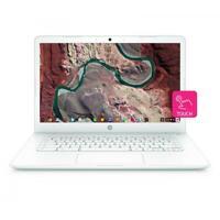 "HP 14"" Chromebook TOUCHSCREEN Intel Celeron N3350 2.4GHz 4GB RAM 32B eMMC White"