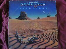 "URIAH HEEP ""HEAD FIRST"" VINYL LP 1983 MERCURY RECORDS 422-812 313-1 M-1, STEREO"