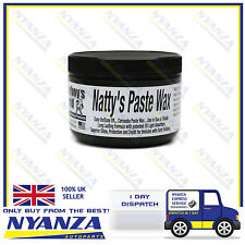 Poorboys Nattys Paste Wax Black Carnauba Wax Long Lasting Dark Coloured Cars