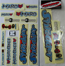 HARO SHREDDER BMX Sticker Set - '90s Old School Freestyle BMX Decal Set - NOS