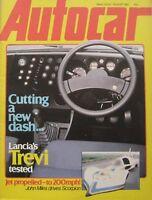 Autocar magazine 1/8/1981 featuring Lancia road test, Sunbeam Tiger, Citroen