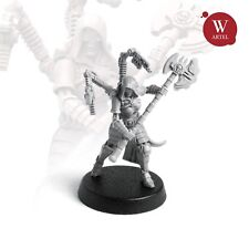 """28mm wargaming and collectible miniature, Techpriest Ivarella by """"W"""" Artel"""