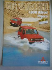 Mitsubishi Pajero L300 Allrad brochure Sep 1984 German text