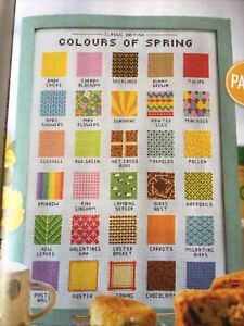 (B) Emma Congdon Colours Of Spring Sampler Cross Stitch Chart
