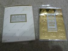 Avon 23Kt Gold Collector Card Super Bowl Commemorative Nib Cert Authentic 1997