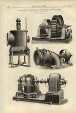 1887 Turbines Manufactured W Gunther Oldham