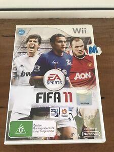 FIFA 11, Nintendo Wii, Complete, gd cond, Aussie Stock
