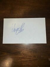 WAYNE LEVI - GOLFER - AUTOGRAPH SIGNED - INDEX CARD -AUTHENTIC - C119