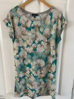 Womens / Ladies Warehouse Green Floral Tunic Top Size 10 New With Tags