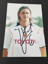 GONZALO DE LOS SANTOS   FC Valencia In-person  signed Foto 10 x 15 Autogramm