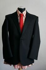 Wool Blend Patternless 28L Suits & Tailoring for Men