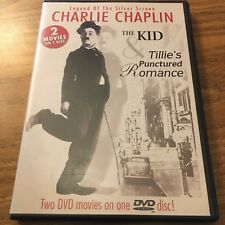 """Charlie Chaplin """"Legend Of The Silver Screen"""" (DVD) 2 Movies! VG+"""