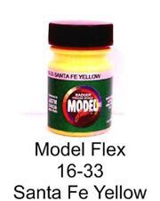 Badger Model Flex 16-33 ATSF Santa Fe Yellow 1 oz Acrylic Paint Bottle