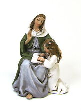 Statue St Anne 4 inch Painted Resin Figurine Patron Saint Joseph Studio Catholic