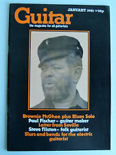 GUITAR Jan 1981 Brownie McGhee Paul Fischer Steve Tilston transcriptions