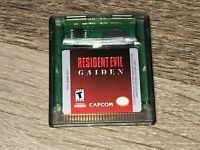 Resident Evil Gaiden Nintendo Game Boy Color Battery Saves Authentic