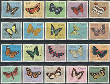 1953 Mozambico 20v. SL (MNH) Michel 417/36 € 100,00