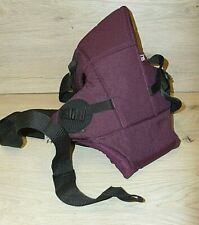 MOTHER CARE BABY PURPLE CARRIER USED
