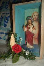 Jesus Christ SUPERSTAR Altar Sanctifyd Cigar Box Shrine Mother Mary Christmas Om