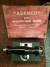 More details for vintage ademco electric iron   with box