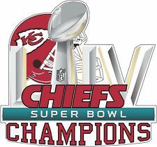 Kansas City Chiefs Super Bowl 54 Champions Decal / Sticker