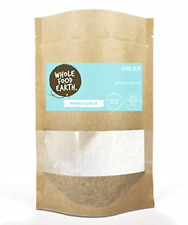 Wholefood Earth: Citric Acid 3kg   Anhydrous   Food Grade
