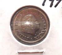 CIRCULATED 1976 25 CENT NETHERLANDS COIN! (71215)