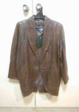 NEW LEATHER BOUTIQUE AUSTRALIAN LINED LEATHER COAT RRP $1,190 SIZE 10