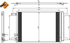 NRF Condensador, aire acondicionado OPEL VOLKSWAGEN GOLF RENAULT SC?NIC 35968