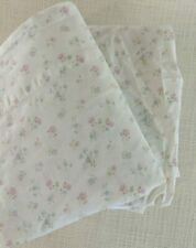 Rachel Ashwell Simply Shabby Chic Cotton Candy Floral Pink TWIN Flat Fitted Set
