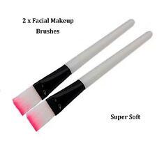NEW 2pcs Makeup Brush Set Cosmetic Foundation blending Face Facial Mask brushes