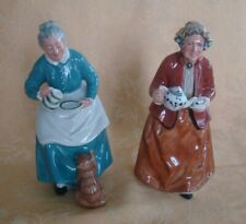 Royal Doulton Figurines: The Favourate Hn# 2249 & Teatime Hn#2255
