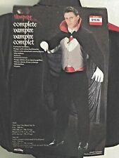 Vampire Halloween Costume, Adult, One Size Fits Most (up to 6ft. 200lbs.) NEW