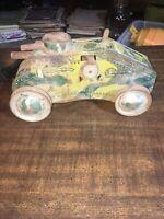 Vintage Marx Toys Tin Litho Wind Up E12 Tank 1950's for Works
