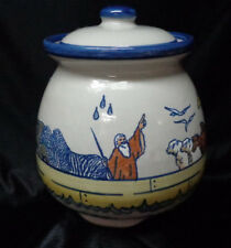 Louisville Stoneware - Noah's Ark Cookie Jar with Lid