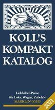 Koll's Kompaktkatalog Märklin 00/H0 2021 - Joachim Koll - 9783936339826