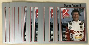 Mario Andretti 1993 K-Mart Racing #6 - Lot of 25 Cards - IRL Indy Car Driver