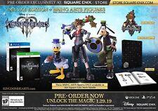 Kingdom Hearts III Deluxe Edition + Bring Arts Figure {PS4}