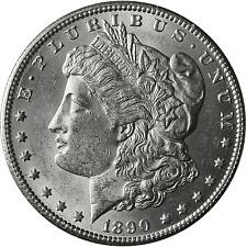 1890-CC Morgan Silver Dollar BU